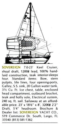 History | Sovereign Yachts
